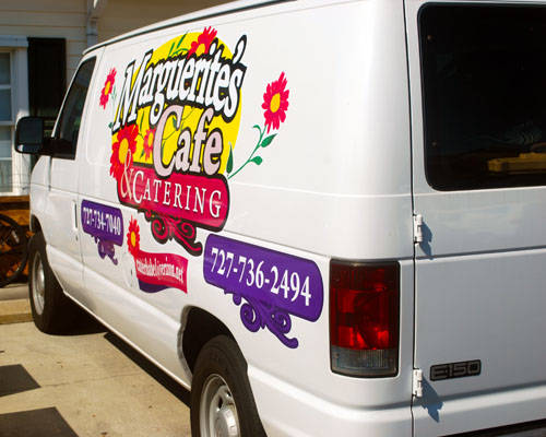 contact marguerite's cafe & catering dunedin florida
