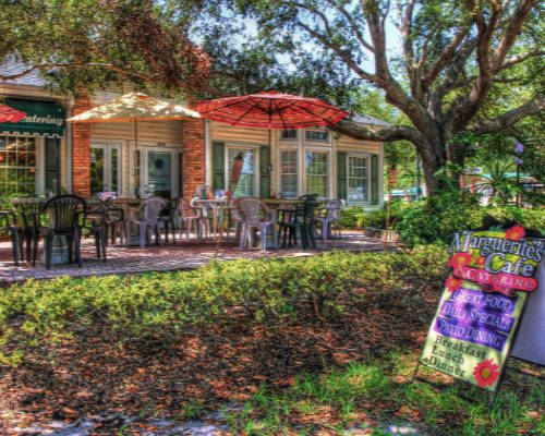 gallery marguerite's cafe & catering dunedin florida